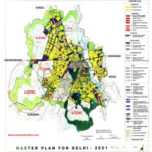 Urban Extension of Delhi